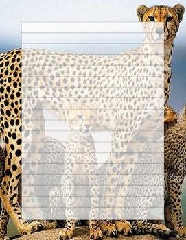 Cheeta Writing Template