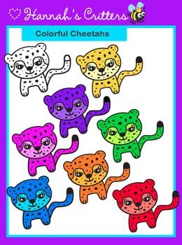 Cheetah {Colorful Safari Critters}