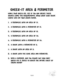 Cheez It Area & Perimeter 4.MD.3