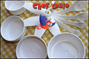 Chef Louie Measuring Cups and Spoons Set