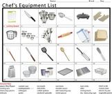 Chef's Equipment List (One)