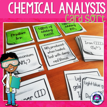 Chemical Analysis Card Sort