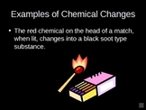 Chemical Changes Power Point Presentation