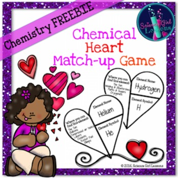 Chemical Heart Match-Up Game