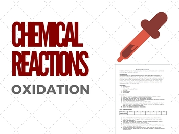 Chemical Reactions Lab - Oxidation