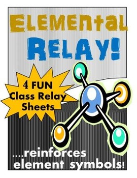 Chemical Symbols Game:  Elemental Relay
