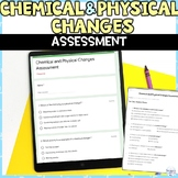 Chemical and Physical Changes Assessment