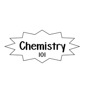 Chemistry 101 Booklet