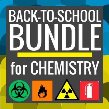Chemistry: Back to School BUNDLE [Powerpoints, activities,