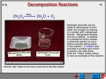 Chemistry Chapter 7: Chemical Reactions