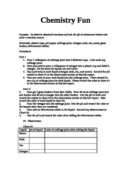 Chemistry Fun