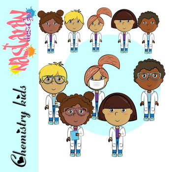 Chemistry Kids Clipart