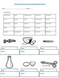 Chemistry Lab Equipment Quiz