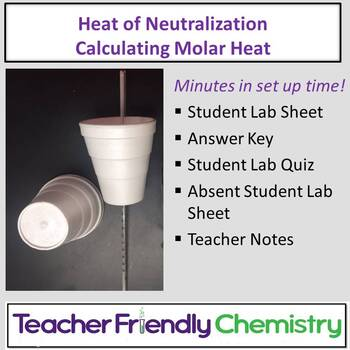 Chemistry Lab: Heat of Neutralization