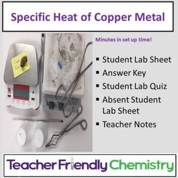 Chemistry Lab: Specific Heat of Copper Metal