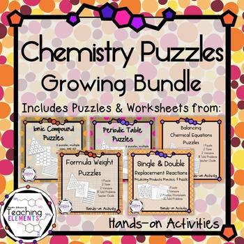 Chemistry Puzzles - Growing Bundle!