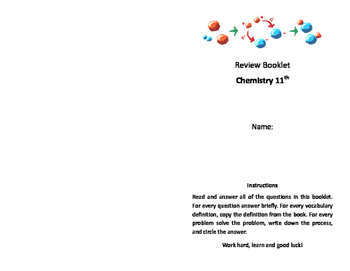 Chemistry Review Booklet
