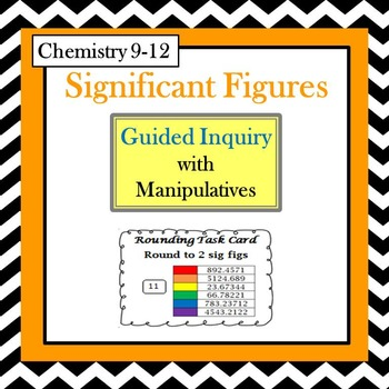 Chemistry Significant Figures Guided Inquiry Lesson (Count