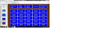 Chemistry Unit 1 Review Jeopardy Game