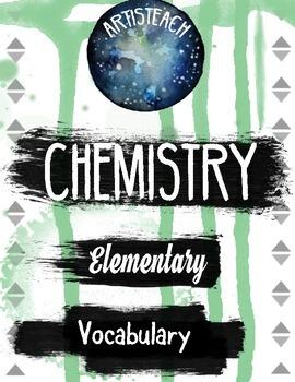 Chemistry Vocabulary Organizer