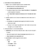 Chemistry of Life - Quick Review Biology Outline and Handout