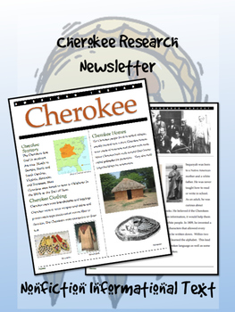 Cherokee American Indian/Native American Research Newsletter!
