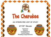 Cherokee Integrated Unit-Social Studies, Reading, Grammar,