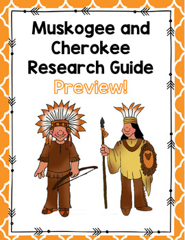 Cherokee and Creek Research Guide