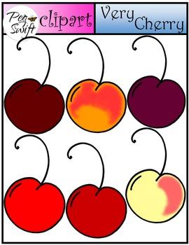 Cherries Clip Art ~ Very Cherry