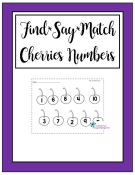 Cherry Numbers 1-10