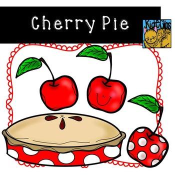 Cherry Pie Cherry Fruit Clip Art Kid-E-Clips Commercial an