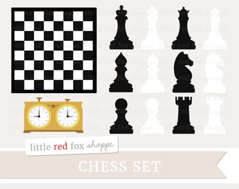 Chess Set Clipart