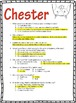 Chester by Melanie Watt Book Test & Bonus Book Report