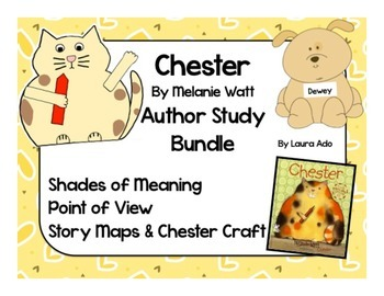 Chester by Melanie Watt Bundle Point of View, Shades of Me