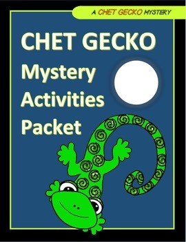 Chet Gecko Mysteries Activity Packet