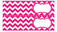Chevron Labels for 10-Drawer Organizer (Pink and Black)