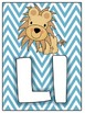 Chevron Alphabet Cards!