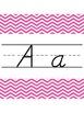 Chevron Alphabet:  D'Nealian