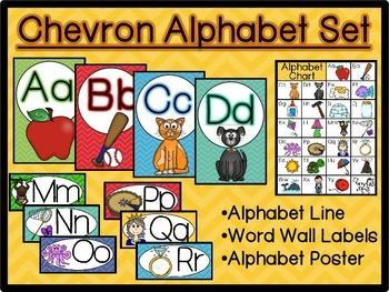 Chevron Alphabet Pack