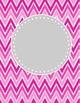 Chevron Background Set 2 + 2 Bonus Round shapes. 12 color schemes