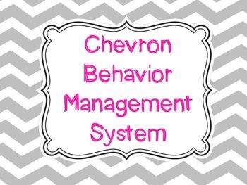 Chevron Behavior Management System