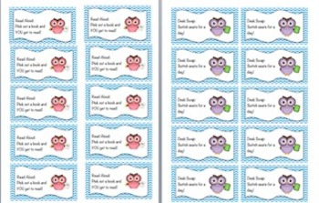 Chevron Behavior Reward Coupons