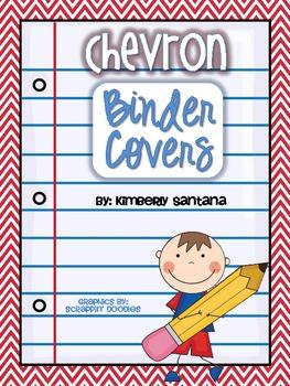 Chevron Binder Covers