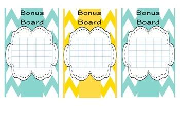 Chevron Bonus Boards