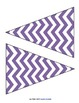 Chevron Bunting and Letters