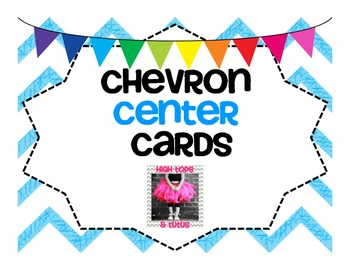 Chevron Center Cards