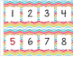 Chevron Chic Number Line {-95 to 200}