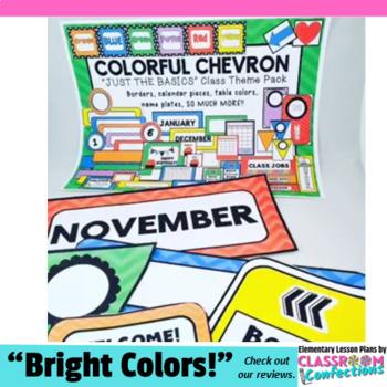 Chevron Theme: Chevron Classroom Decor Basics: Chevron The