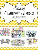 Chevron Classroom Decor Bundle!!