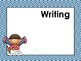 Chevron Daily Learning Targets Bulletin Board Set